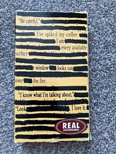 Real Skateboards Non Fiction Video VHS PAL