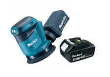 Makita DBO180Z 18v Cordless li-Ion Random Orbit Sander 125mm +1x 3Ah Battery