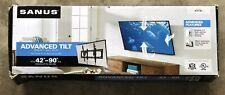 """Sanus - Premium Series Advanced Tilt TV Wall Mount For Most 42"""" - 90"""" TVs - E..."""