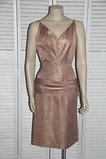 Vintage 1950's Dress - Sexy Bombshell Sweetheart Bust Wiggle Pencil Hollywood