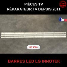 17y 43inch A-type Lc43490059a/58a Barres LED LG 43uj635 et autres Kit complet