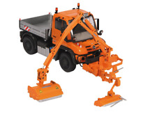 NZG 1:50 SCALE MB UNIMOG MKM 700 WITH HEADGE CUTTER 9101
