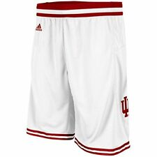 Indiana Hoosiers Mens Replica Basketball Shorts White L