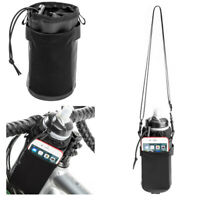 Bicycle Water Bottle Holder Handlebar Bag Bike Kettle Carrier w/ Phone Pouch