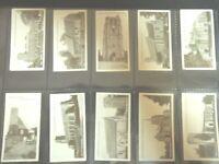 1912 Churchman EAST SUFFOLK CHURCHES History  set 50 Tobacco Cigarette cards