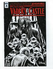 STAR WARS TALES FROM DARTH VADER'S CASTLE # 4 IDW NM 1:10 Cover