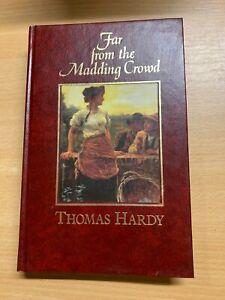 "1992 THOMAS HARDY ""FAR FROM THE MADDING CROWD"" FICTION HARDBACK BOOK (P4)"