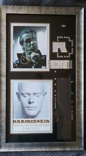 RAMMSTEIN Til Lindemann  Autographed photo from made in Germany tour PSADNA