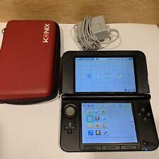 Console Nintendo 3ds Xl Rouge Avec Chargeur Officiel - Fonctionne Bien