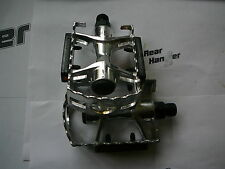 """Bike Pedal Pedals Metal Cage Alloy Body MTB Road Mountain Platform 9/16"""""""