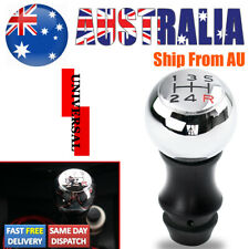 Universal Automatic Manual Car Gear Stick Shift Knob Lever Shifter Chromed