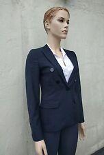 Lovely Jaeger Navy Blue 100% Wool Jacket Size 6