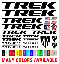 Trek Die-Cut Decals Stickers Bicycle Set Autocollant Aufkleber Adesivi