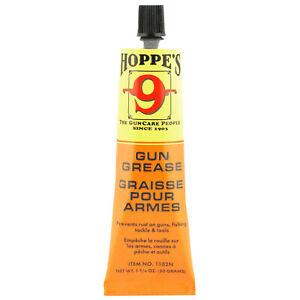 HOPPES Gun GREASE for Pistol, Rifle, Shotgun, Fishing Reel Lubrication - 1.75oz