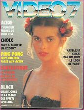 ▬►VIDEO 7 N° 17 (1983) NASTASSJA KINSKY_EDDY MITCHELL_GRACE JONES_DINO RISI