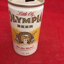 Olympia Beer, empty beer can, 7 oz, Aluminum can - Olympia Brewing