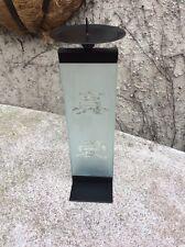 Un pilier / votive bougeoir avec écriture chinois