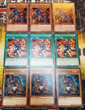 3x Dunkler Magier des Chaos Engagement durch Licht und Finsternis Yu-Gi-Oh Hexer