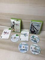 Microsoft XBOX 360 CIB WORKING GAME FINAL FANTASY XIII XIII-2 lot complete
