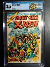 GIANT SIZE X-MEN #1 CGC 3.5 / NEW CASE, CUSTOM LABEL!