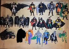 18x Batman Animated Lot Konvolut Sammlung Kenner Vintage Figuren + Cardbacks