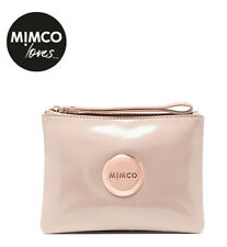 Mimco Lovely Blush Pink Patent Leather Pouch Medium Clutch Wallet