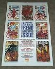Black Panther/Punisher/Daredevil/Spider-Girl/Avengers/X-Men Marvel Comics poster