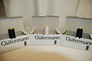Guterman 1000m All Purpose Sewing Thread in 10 colours