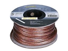 Audiophile Grade 100ft 12AWG Oxygen Free Copper OFC Loud Speaker Wire Cable