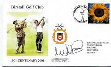 1999 Golf Cover Birstall SIGNED Mark James