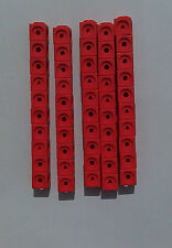 Maths Link Counting Cubes (New Pack of 50 red cubes 2cm x 2cm x 2cm)