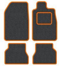 Suzuki Samurai/Santana/SJ 410 Velour Anthracite/Orange Trim Car mat set