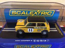 Scalextric Digital Mini Cooper S BRCC 1969 Silverstone C3640 Brand New