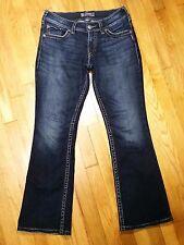 Silver Suki Surplus Boot Jeans Size 29 L 30 Style L9906SAF446 Excellent