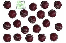 Mini miniature cuir Balles de cricket: Lot de 12: pour des trophées, des présentations