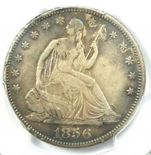 1856-S Seated Liberty Half Dollar 50C - Certified PCGS VF Details - Rare Coin!