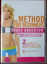 Tracy Anderson: The Method For Beginners New Sealed DVD