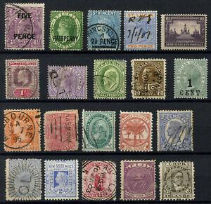 Commonwealth Stamp Collection Inc Mint & Unused Honduras, Newfoundland & Samoa