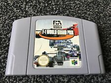 F1 World Grand Prix Nintendo 64 N64 PAL Reino Unido