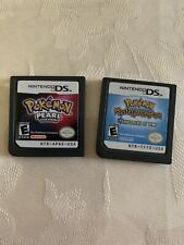 AUTHENTIC Pokemon pearl Pokemon Mystery Dungeon Explorers Of Time Bundle