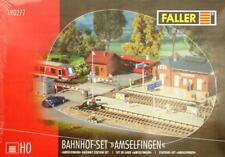 "Faller 190277 H0 - Bahnhof- Set "" Amselfingen "" NEU & OvP"