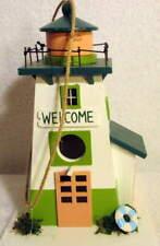 hello Spring gardening Wooden Bird House Nwt 29.99.