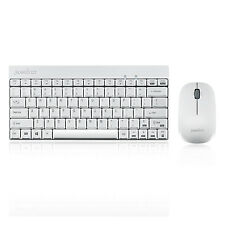 Perixx PERIDUO-712W US, Wireless Mini Keyboard and Mouse Combo- Nano Receiver