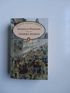 Nicholas Nickleby Charles Dickens Weltliteratur Englisch Sprache Penguin Popular