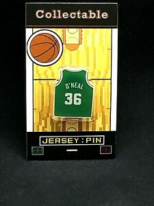 Boston Celtics Shaquille O'Neal jersey lapel pin-Classic throwback Collectable