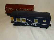 LIONEL WAR TIME WOODEN TRAIN CARS metal trucks Errector Frames MADISON HARDWARE?