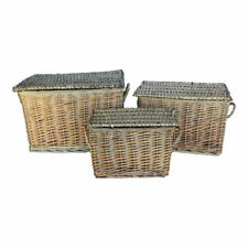 Wooden Decorative Baskets with Lid