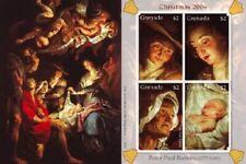 Grenada - 2006 - Christmas 2006 Peter Paul Rubens - Sheet Of 4 - MNH