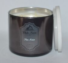 NEW BATH & BODY WORKS STAR ANISE SCENTED CANDLE 3 WICK 14.5 OZ LARGE MARBLE LID