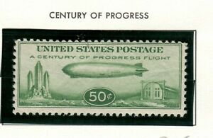 US Scott #C18 Zeppelin! F/VF MNH Airmail classic!